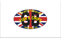 Sell GB Fish & Chips Gift Card