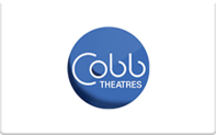 Buy Cobb Theatres (Online Only) Gift Card