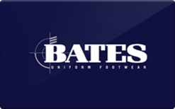 Buy Bates Footwear Gift Card