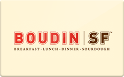 Buy Boudin Bakery Gift Card
