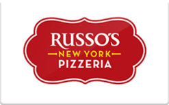 Sell Russo's New York Pizzeria Gift Card