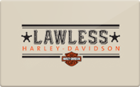 Buy Lawless Harley-Davidson Gift Card
