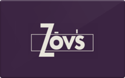 Sell Zov's Restaurants Gift Card