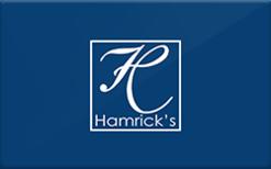Sell Hamrick's Gift Card