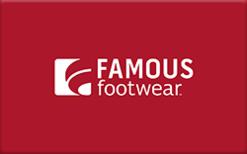 Buy Famous Footwear Gift Card