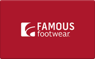 Buy Famous Footwear Gift Card