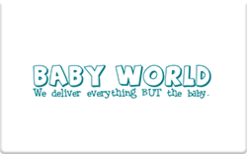 Sell Baby World Gift Card