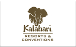 Sell Kalahari Resorts & Conventions Gift Card