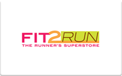 Sell Fit2Run Gift Card