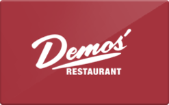 Sell Demos' Restaurant Gift Card