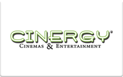Sell Cinergy Cinemas Gift Card