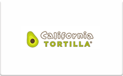 Sell California Tortilla Gift Card