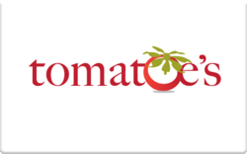 Sell Tomatoe's Restaurant Gift Card