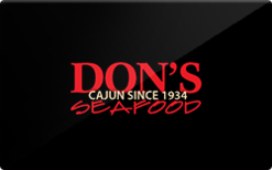 Sell DON'S Seafood Gift Card