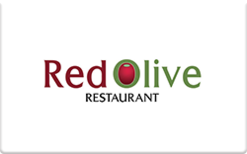 Sell Red Olive Restaurants Gift Card