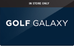 Buy Golf Galaxy (In Store Only) Gift Card
