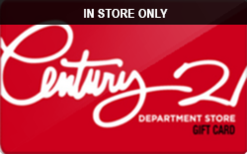 Sell Century 21 (In Store Only) Gift Card