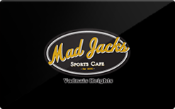 Sell Mad Jack's Sports Cafe Gift Card