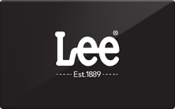 Sell Lee Jeans (In Store Only) Gift Card