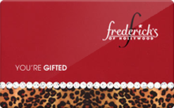 Sell Frederick's Of Hollywood Gift Card