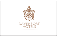 Buy Davenport Hotels Gift Card