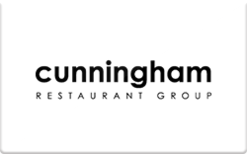 Buy Cunningham Restaurant Group Gift Card