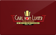 Buy Carl Von Luger Steak and Seafood Restaurant Gift Card