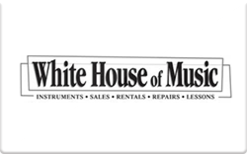 Sell White House of Music Gift Card