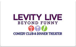 Sell Levity Live Gift Card