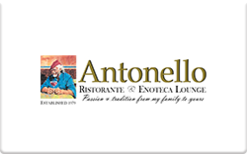 Sell Antonello Specialty Restaurant Group Gift Card