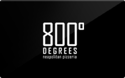 Sell 800 Degrees Pizza Gift Card