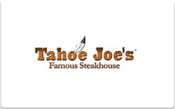 Sell Tahoe Joe's Gift Card