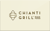 Buy Chianti Grill Gift Card