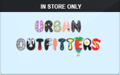 Urban Outfitters (In Store Only) Coupons & Promo Codes | Raise.com