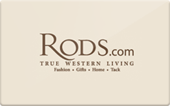 Sell Rods Gift Card