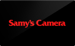 Sell Samy's Camera Gift Card