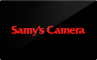 Buy Samy's Camera Gift Card