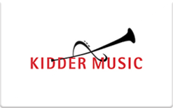 Buy Kidder Music Gift Card