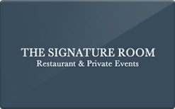 Sell The Signature Room at the 95th Gift Card