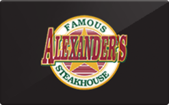Sell Alexander's Famous Steakhouse Gift Card