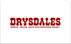 Sell Drysdales Western Wear Gift Card