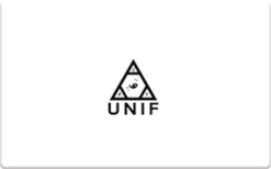 Buy UNIF Gift Card