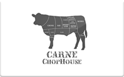 Sell Carne Chop House Gift Card