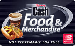 Sell Speedway Food & Merchandise Gift Card