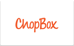 Sell ChopBox Gift Card