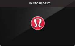 Buy Lululemon (In Store Only) Gift Card