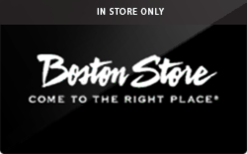 Sell Boston Store (In Store Only) Gift Card