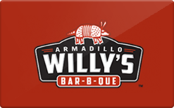 Buy Armadillo Willy's BBQ Gift Card