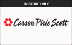 Buy Carson's (In Store Only) Gift Card