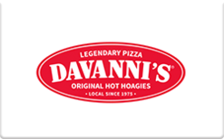 Sell Davanni's Gift Card